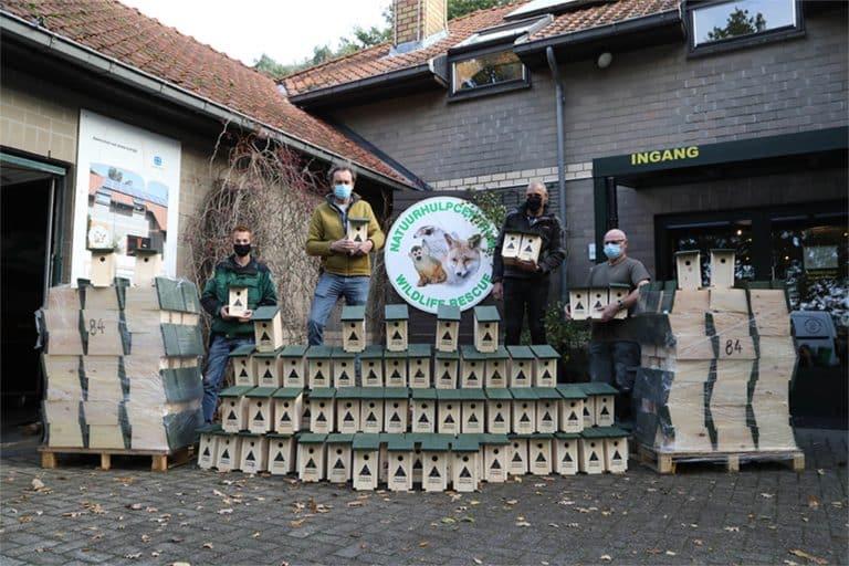Sustainably produced nesting boxes